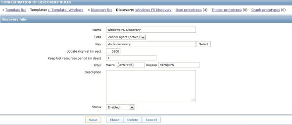 Windows LDD file system discovery rule